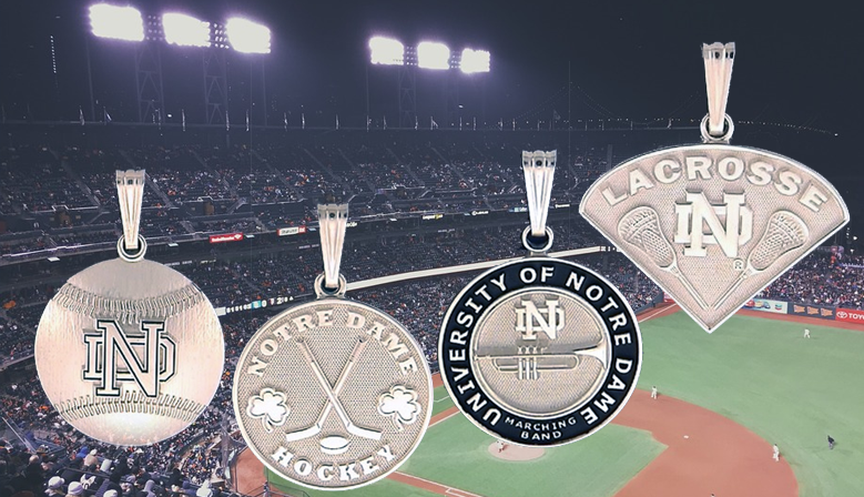 Notre Dame® Fine Jewelry Sports Pendants
