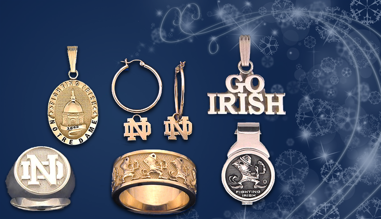 Notre Dame® Fine Jewelry Pendants are crafted with your choice of Gold or Sterling Silver.